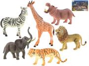 Sada zvířátek Safari 16-23 cm 6 ks
