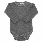 Zimní kojenecké body MELÍREK ŠEDÝ Baby Service