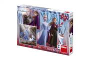 Puzzle 3v1 Ledové království II 3x55 dílků