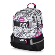 Studentský batoh OXY Sport leaves