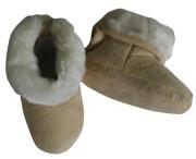 Kojenecké capáčky zimní Pidilidi béžová