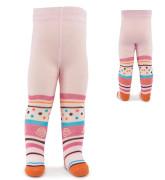 Punčocháče bavlněné pro holky Pidilidi vel 56/62 růžové šnečci