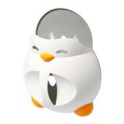 Plastový box na hračky do vany Baby Ono - bílý tučňák