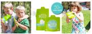 Zelené kapsičky na jídlo 4 ks v balení