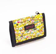 Dětská textilní peněženka Emoji