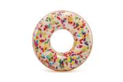 Nafukovací kruh donut s posypem 1,14m Intex 56263
