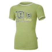 Tričko tenké KR obrázek Outlast® - zelená matcha/pruh zelená matcha