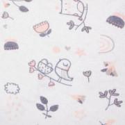 Prostěradlo 100% bavlna jersey 120 x 60 cm Bird World