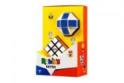Rubikova kostka sada 2 ks retro kostka 3x3x3, had v krabičce