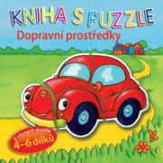 Kniha s puzzle - Dopravní prostředky