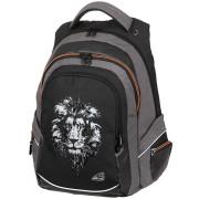 Studentský batoh FAME Lion Black
