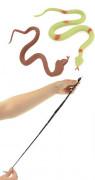 Had antistresový gumový 30 cm 3 ks