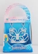 Šperky pro princeznu sada modrá