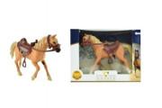 Kůň se sedlem 20cm