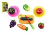 Ovoce a zelenina krájecí s náčiním plast 18ks