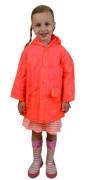 Pláštěnka PVC neonová Pidilidi Oranžová