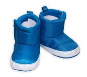 YO ! Zimní nepromokavé botičky/capáčky Kosmonaut Modré Vel. 0-6m