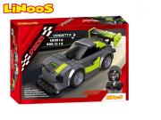 LiNooS stavebnice 168 ks auto sportovní na volný chod