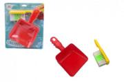 Uklízecí sada/uklízečka plast smetáček + lopatka