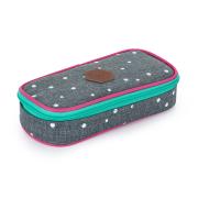 Pouzdro etue komfort OXY scooler Grey dots