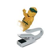 Lampička na čtení LEGO Ninjago Legacy Zlatý Ninja