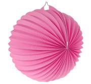 """Lampion dekorační ,,koule"""" růžová"""