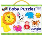 Puzzle pro nejmenší – zvířátka v džungli 2.