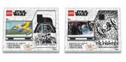Zápisník s perem a stavebnicí LEGO - Stationery Star Wars