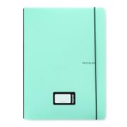 Sešit PP Oxybook A4 40 listů PASTELINI zelená