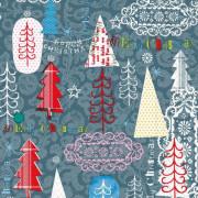 Vánoční ubrousky SusyCard Stromečky