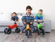 Odrážedlo Funny Wheels Sport 2v1 s gumovými koly