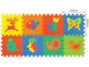 pěnové puzzle zvířátka 8 ks, 32 x 32 cm