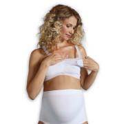 Těhotenská podprsenka vhodná i ke spaní - BÍLÁ