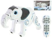 IR/C Robo-slon 33 cm na baterie se světlem a zvukem