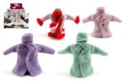 Šaty/Oblečky kabátek na panenky