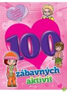 Pracovní sešit 100 zábavných aktivit-dívky