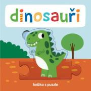 Dinosauři Knížka s puzzle