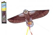 Drak létající nylon orel 138x69 cm