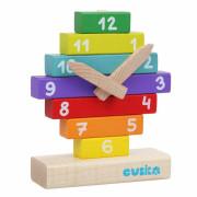 Hodiny s magnetickými ručičkami - dřevěná skládačka Cubika