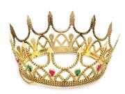 Královská koruna karnevalová královna zlatá