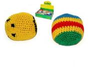 Hakysák míček footbag 6 cm háčkovaný