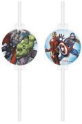 EKO papírová brčka - Avengers Marvel 4 ks