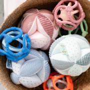 Hračka míč edukační 4 aktivity Lapidou