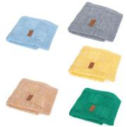 Pletená deka 90 x 90 cm Mřížky Ceba