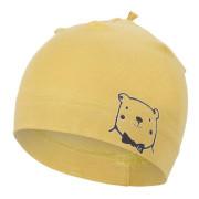 Čepice tenká obrázek Outlast® - oliva/medvěd