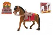 Kůň fliška se sedlem 18 cm