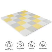 Podložka pěnové puzzle Luno 150x180 cm Yellow 30 ks Kinderkraft 2020