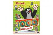 Samolepková knížka Krtek a aktivity 1000 samolepek