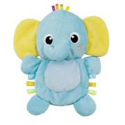 Plyšový kamarád 26 cm šustící sloník 0m+