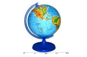 Globus zeměpisný 16 cm